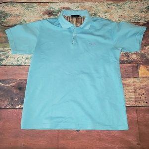 Paul Smith Blue Brighten Polo Shirt Size M